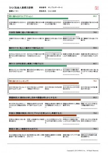 サンプル2 診断シート1